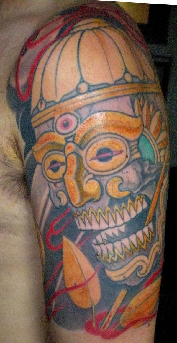 Tatuajes Alcorcon nico grifone tattoo | biker excalibur 2
