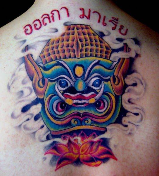 tatuajes en zaragoza. kustom tattoo studio tatuaje zaragoza. Tattoo « Biker Excalibur 2